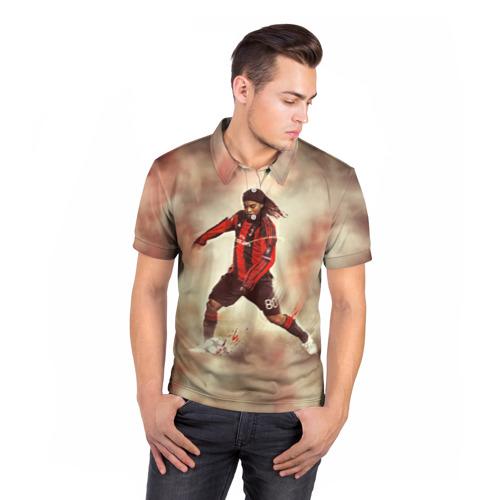 Мужская рубашка поло 3D  Фото 05, Ronaldinho