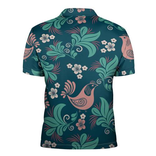Мужская рубашка поло 3D  Фото 02, Древние искусство росписи