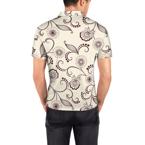 Мужская рубашка поло 3D  Фото 04, Фольклорный стиль