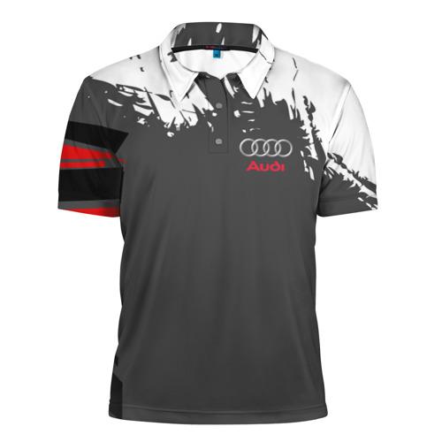 Мужская рубашка поло 3D  Фото 01, AUDI  SPORT