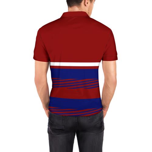 Мужская рубашка поло 3D  Фото 04, Герб РФ
