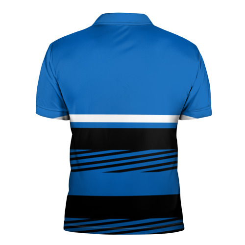 Мужская рубашка поло 3D  Фото 02, Герб РФ