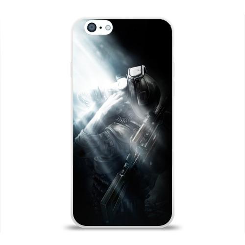 Чехол для Apple iPhone 6 силиконовый глянцевый Metro 2033 Фото 01