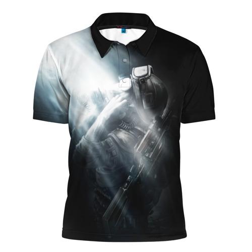 Мужская рубашка поло 3D  Фото 01, Metro 2033
