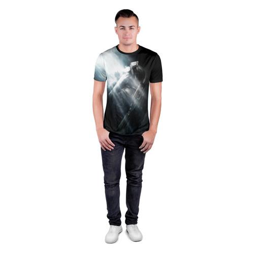 Мужская футболка 3D спортивная Metro 2033 Фото 01