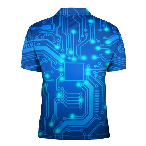 Мужская рубашка поло 3D  Фото 02, Плата