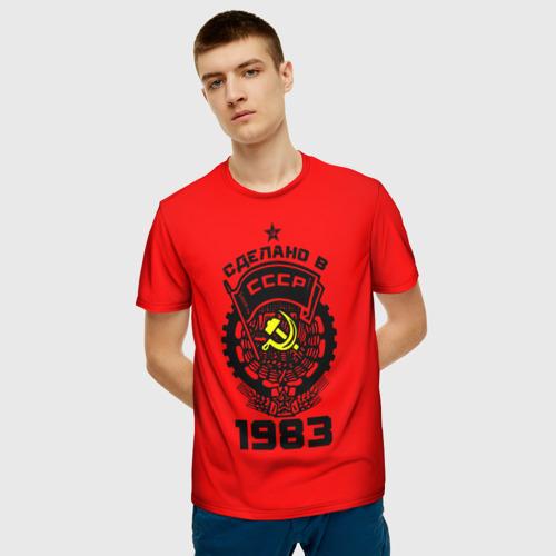 Мужская футболка 3D Сделано в СССР 1983 Фото 01
