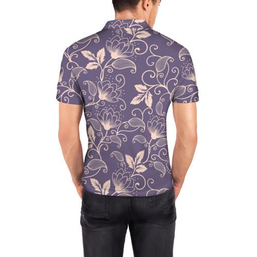 Мужская рубашка поло 3D  Фото 04, Естественный стиль