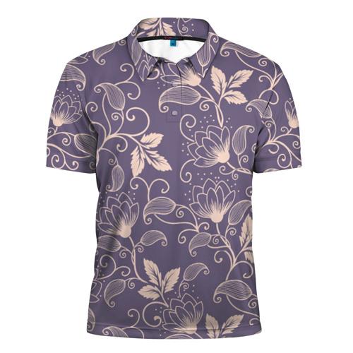 Мужская рубашка поло 3D  Фото 01, Естественный стиль