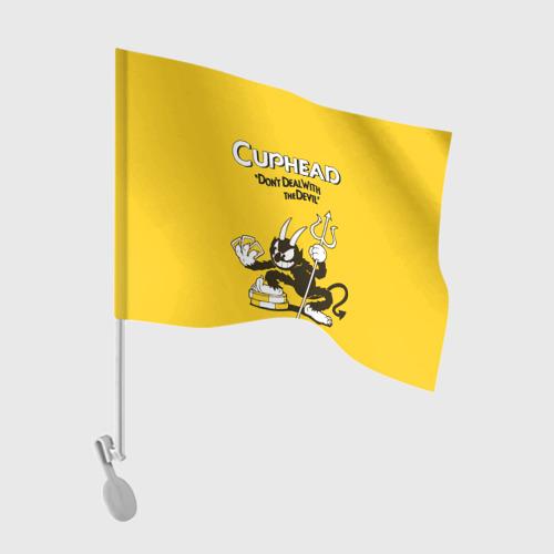 Флаг для автомобиля  Фото 01, Cuphead