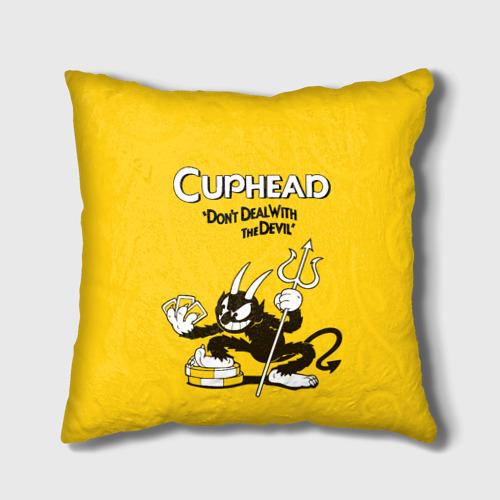 Подушка 3D Cuphead Фото 01