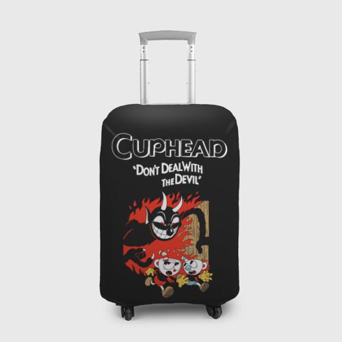 Чехол для чемодана 3D Cuphead Фото 01