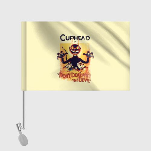 Флаг для автомобиля  Фото 02, Cuphead