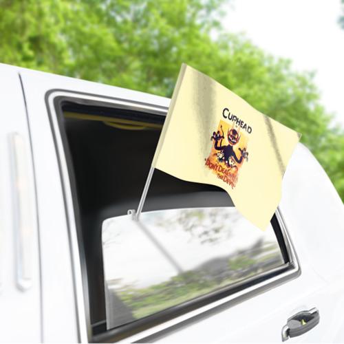 Флаг для автомобиля  Фото 03, Cuphead