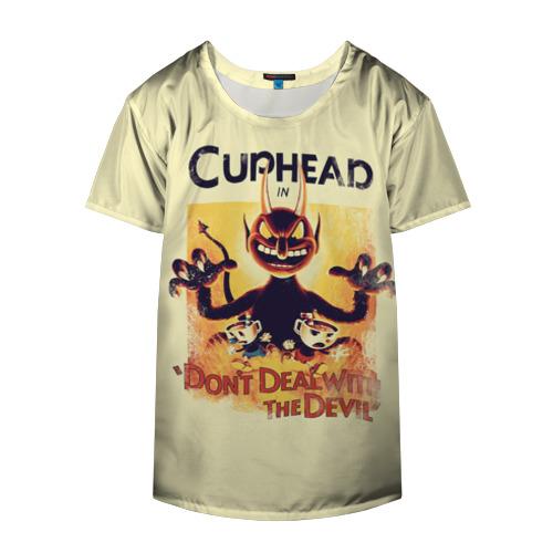 Накидка на куртку 3D  Фото 04, Cuphead