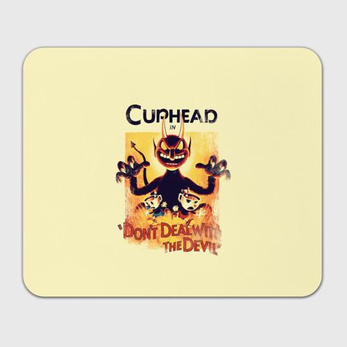 Коврик для мышки прямоугольный Cuphead Фото 01