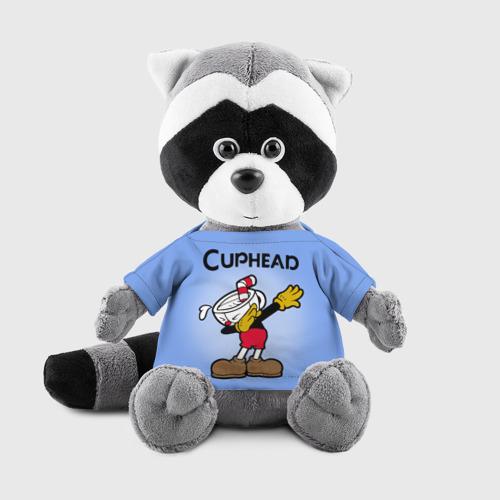 Енотик в футболке 3D  Фото 01, Cuphead