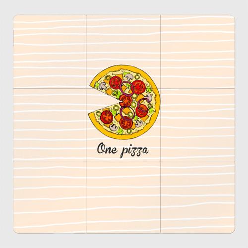 Магнитный плакат 3Х3 One love, One pizza