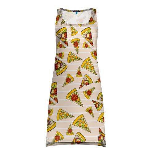 Платье-майка 3D Pizza love