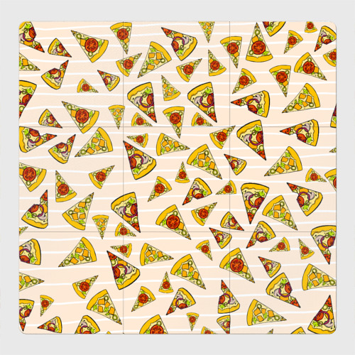 Магнитный плакат 3Х3 Pizza love