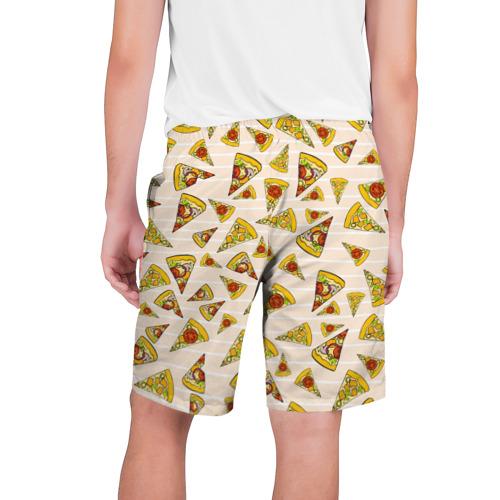 Мужские шорты 3D  Фото 02, Pizza love