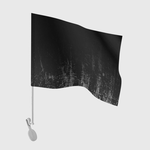 Флаг для автомобиля Black Grunge Фото 01