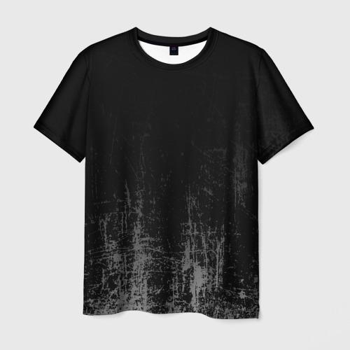 Мужская футболка 3D Black Grunge Фото 01