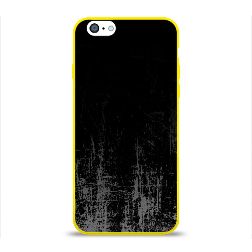 Чехол для Apple iPhone 6 силиконовый глянцевый Black Grunge Фото 01