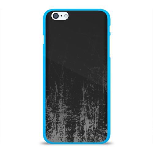 Чехол для Apple iPhone 6Plus/6SPlus силиконовый глянцевый Black Grunge Фото 01