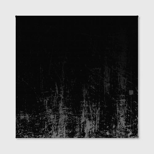 Холст квадратный Black Grunge Фото 01