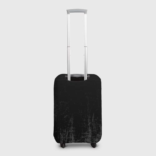 Чехол для чемодана 3D Black Grunge Фото 01