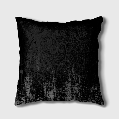 Подушка 3D Black Grunge Фото 01