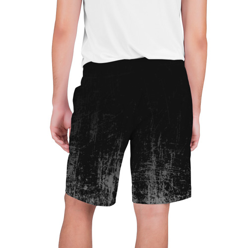 Мужские шорты 3D  Фото 02, Black Grunge