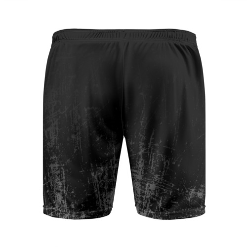 Мужские шорты спортивные Black Grunge Фото 01