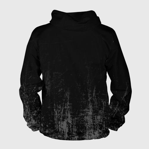 Мужская ветровка 3D Black Grunge Фото 01