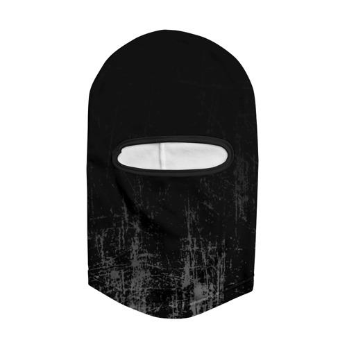 Балаклава 3D Black Grunge Фото 01