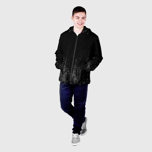 Мужская куртка 3D Black Grunge Фото 01