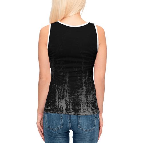 Женская майка 3D Black Grunge Фото 01