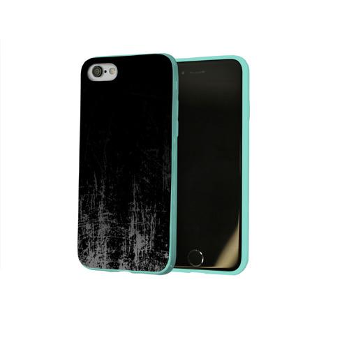 Чехол для Apple iPhone 8 силиконовый глянцевый Black Grunge Фото 01