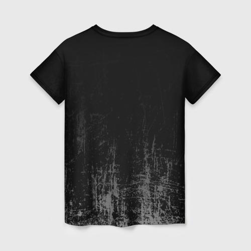 Женская футболка 3D Black Grunge Фото 01