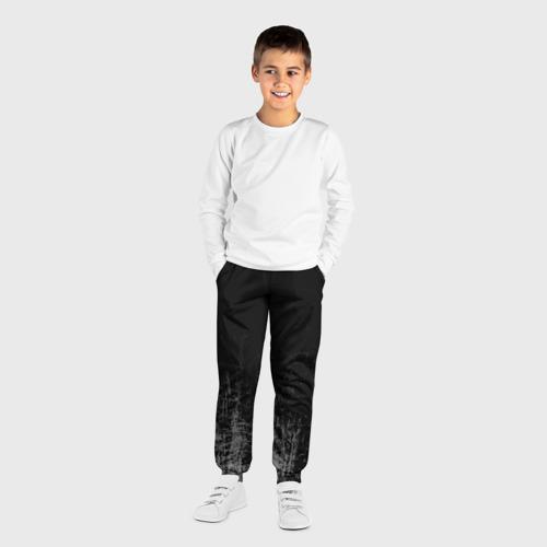Детские брюки 3D Black Grunge Фото 01