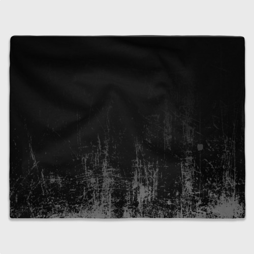 Плед 3D Black Grunge Фото 01
