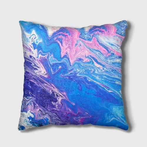 Подушка 3D  Фото 02, Жидкие краски