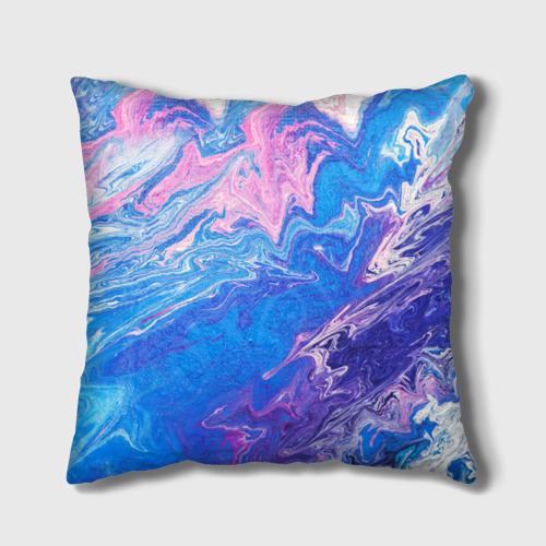 Подушка 3D  Фото 01, Жидкие краски
