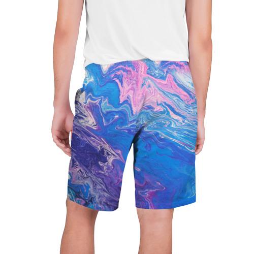 Мужские шорты 3D  Фото 02, Жидкие краски