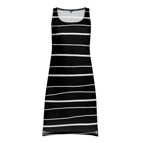 Платье-майка 3D Полосочка