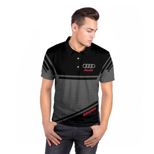 Мужская рубашка поло 3D  Фото 05, AUDI  SPORT
