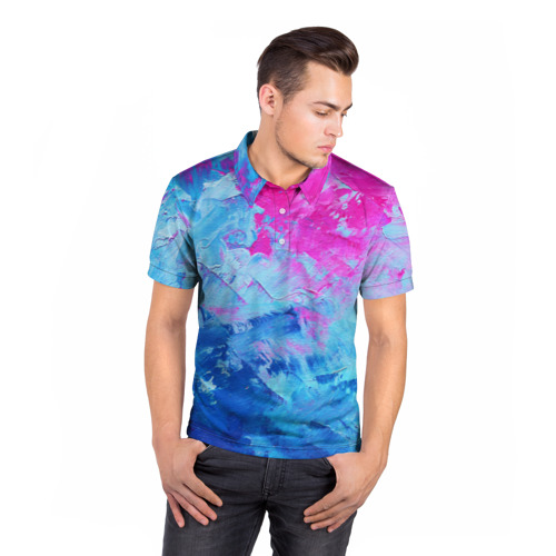 Мужская рубашка поло 3D  Фото 05, Великолепные краски