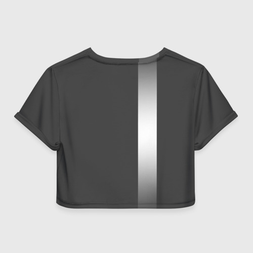 Женская футболка 3D укороченная  Фото 02, AUDI SPORT