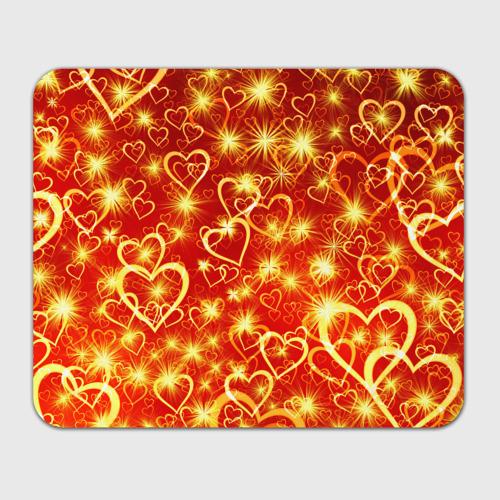 Коврик для мышки прямоугольный  Фото 01, Яркие сердца